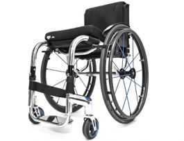 RGK TIGA FX - Fauteuil roulant rigide et pliant en aluminium