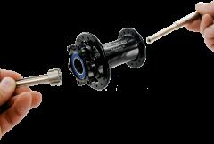 Kit d'extraction de roulements de moyeux - 5 pinces