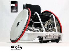Oracing G2 Offensif - Fauteuil roulant de quad rugby en aluminium