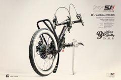 Oracing STREETJET manuel - Handbike à clamper pour fauteuil roulant