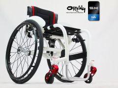 Oracing SX - Fauteuil roulant rigide sur amortisseur et en aluminium