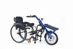 Quickie ATTITUDE POWER - 3ème roue électrique pour fauteuil roulant