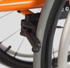 Paire de freins ciseaux légers - Accessoire pour fauteuil roulant