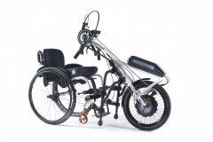 QUICKIE ATTITUDE HYBRID - Handbike hybrid à clamper pour fauteuil roulant