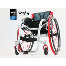 Oracing F2 - Fauteuil roulant rigide en aluminium ou titane