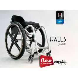 Oracing HALLS - Fauteuil roulant rigide en aluminium