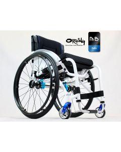 Oracing MB - Fauteuil roulant rigide et réglable en aluminium