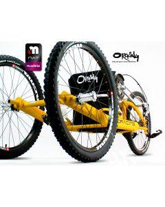 Oracing Nat-M - Handbike tout-terrain en aluminium