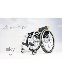 Oracing SKY - Fauteuil roulant rigide en aluminium
