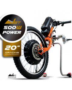 """Oracing STREETJET power 20"""" - 3ème roue électrique pour fauteuil roulant"""