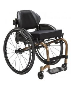 KUSCHALL K-SERIES - Fauteuil roulant rigide en aluminium, titane ou carbone