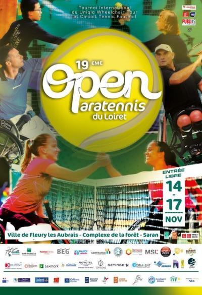 Tournoi de l'Open paratennis du Loiret 2019